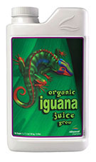 Iguana is 100% organic and uses only premium quality and sourced ingredients