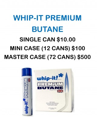 Whip-It Premium Butane, Grow Shop Wasilla