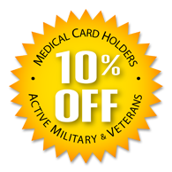 Southside Garden Supply of Anchorage, Alaska offers 10% Off to medical card holders, active military and veterans for all home and commercial indoor cultivation supplies and hydroponic equipment.