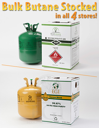 Bulk Butane available at Southside Garden Supply hydroponics and indoor gardening of Anchorage and Wasilla, Alaska